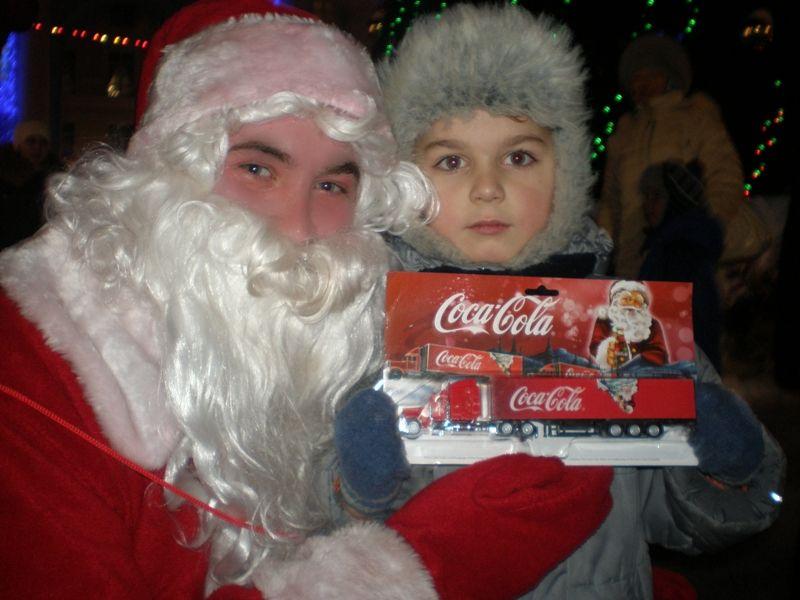 Караван грузовиков Coca-Cola